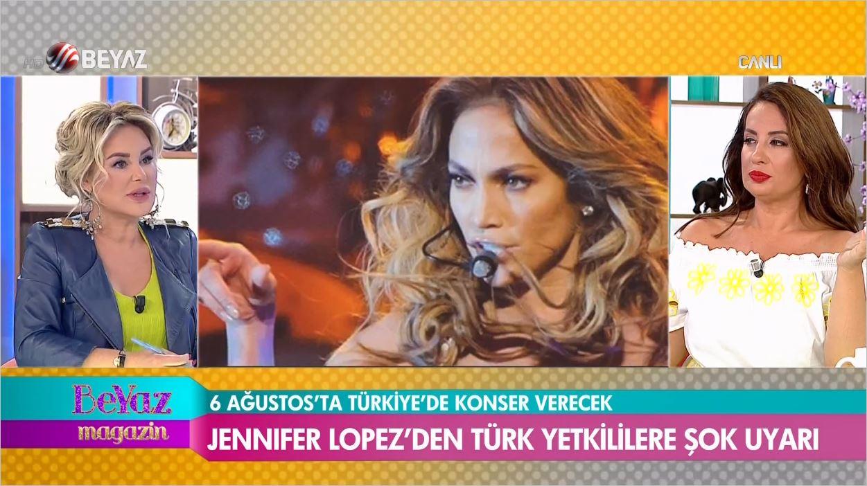 Jennifer Lopez'den Türk Yetkililere Uyarı - Abartmayın