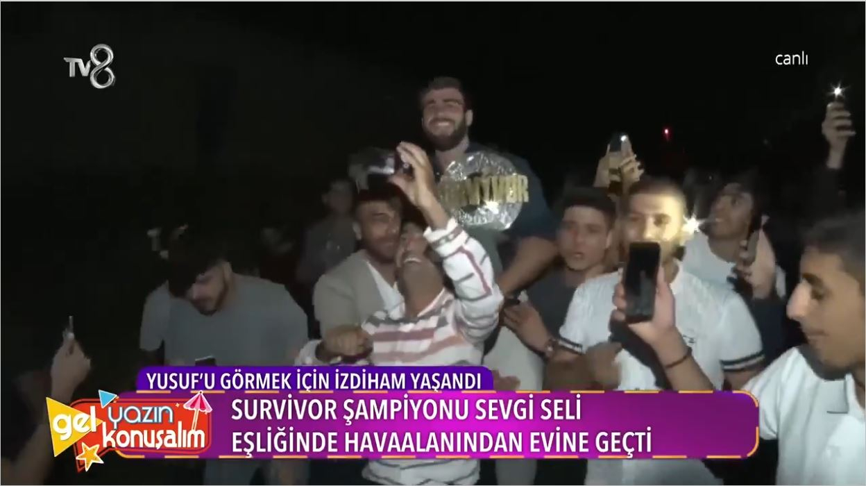 Survivor Şampiyonu Yusuf Memleketi Elazığ'da