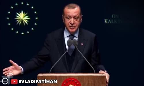 Erdoğan'dan Flaş Açıklama İnsansız Tank Yapıyoruz