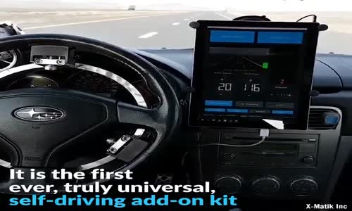 Otonom sürüş keyfini yaşamak için aracınızı değiştirmeniz gerekmeyecek.