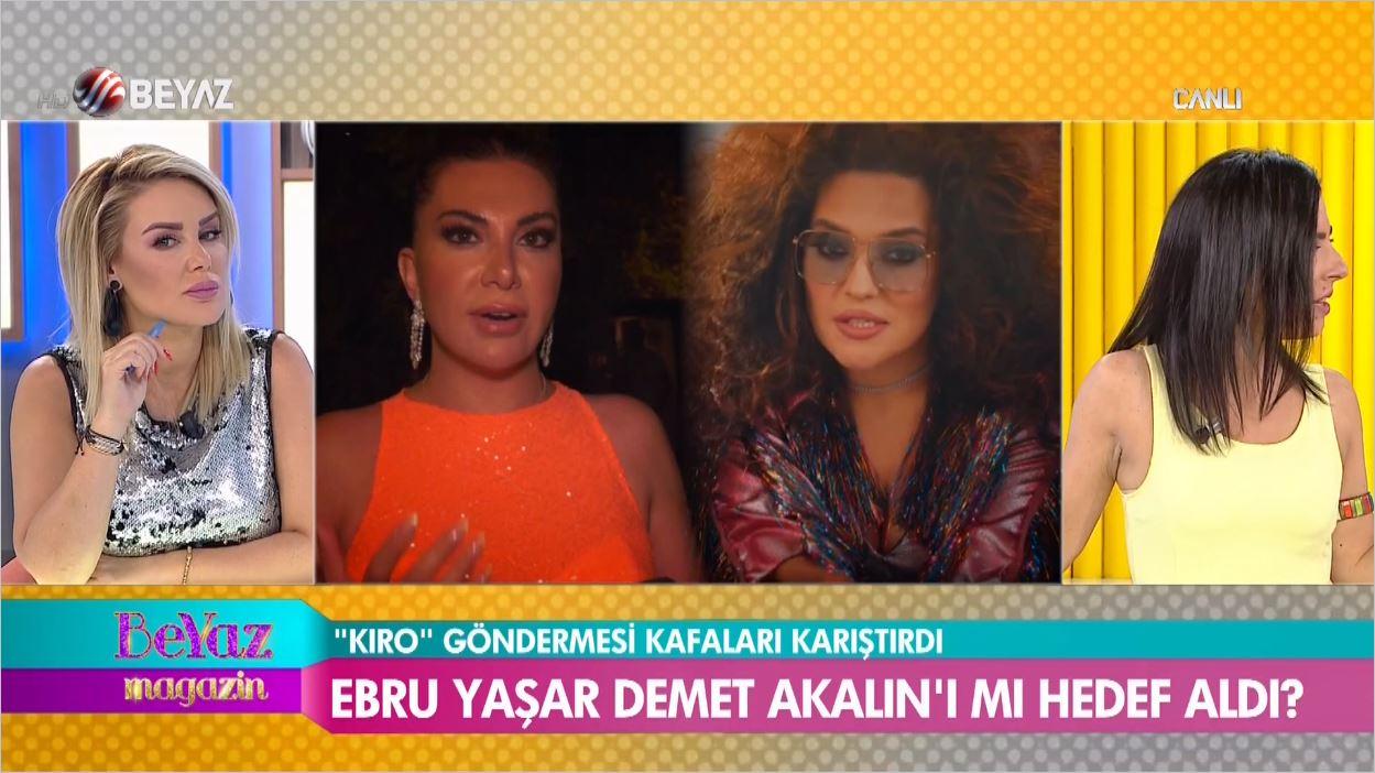 Ebru Yaşar Hangi Şarkıcıya Kıro Dedi