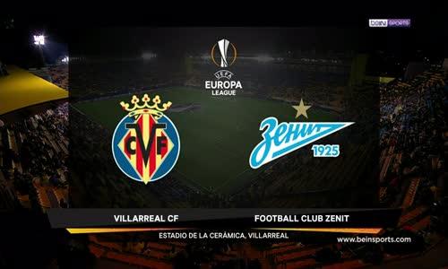 Villarreal 2 - 1 Zenit Maç Özeti İzle