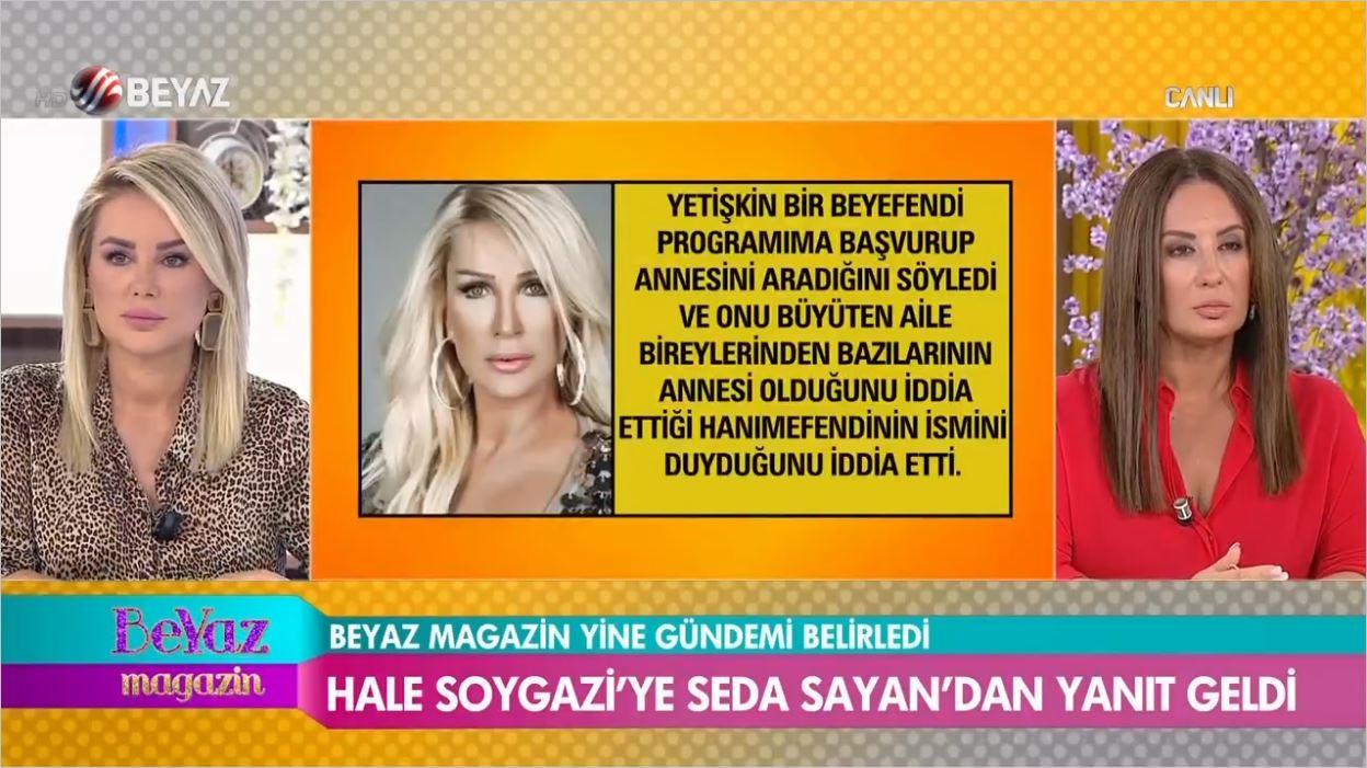 Hale Soygazi'ye Seda Sayan'dan Sert Yanıt Geldi